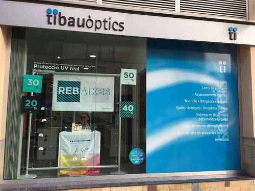 Optica en Barcelona Natural Optics Tibau