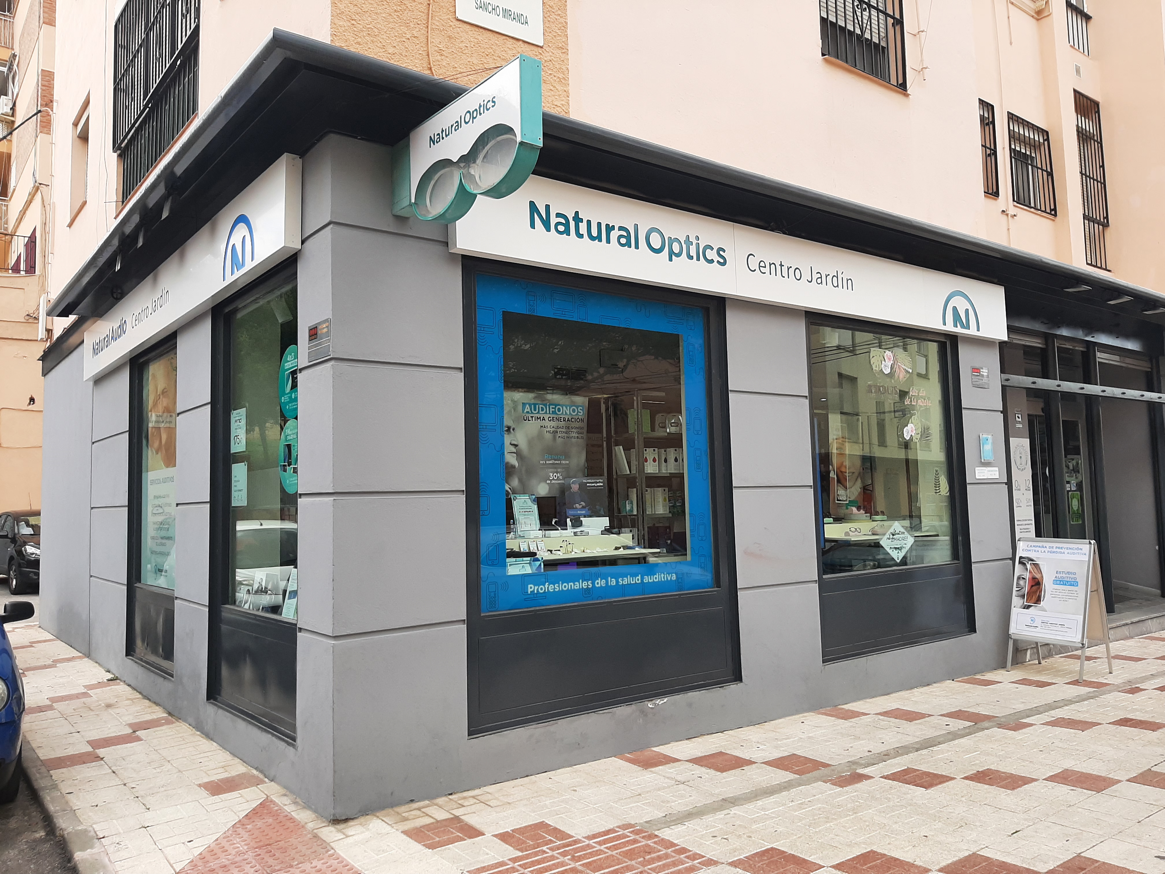 Optica en Málaga Natural Optics Centro Jardín