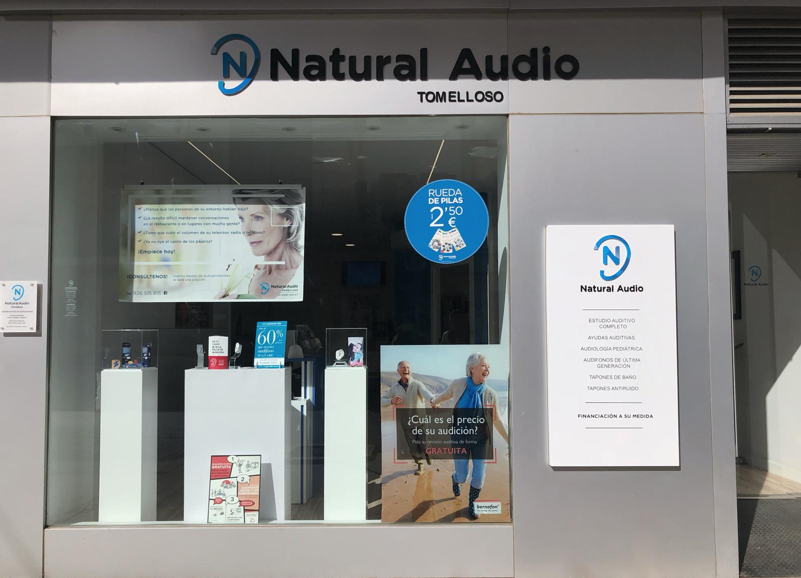 Optica en Ciudad Real Natural Audio Tomelloso