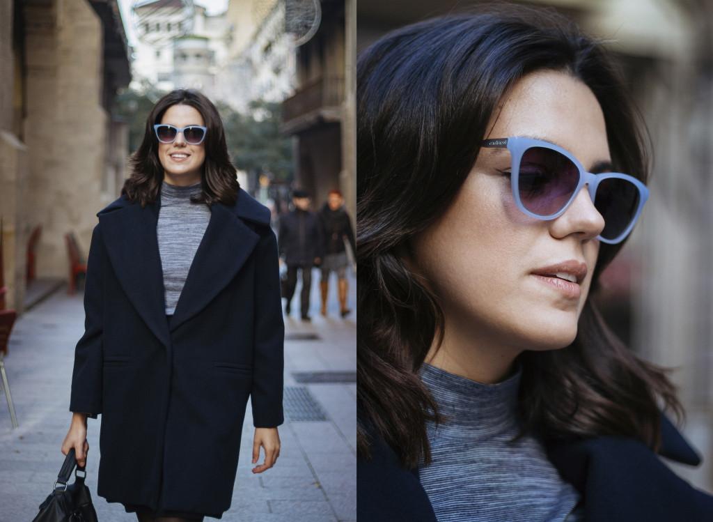 Look con gafas Cacharel de Natural Optics