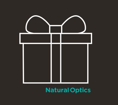 Targeta regalo de Natural Optics