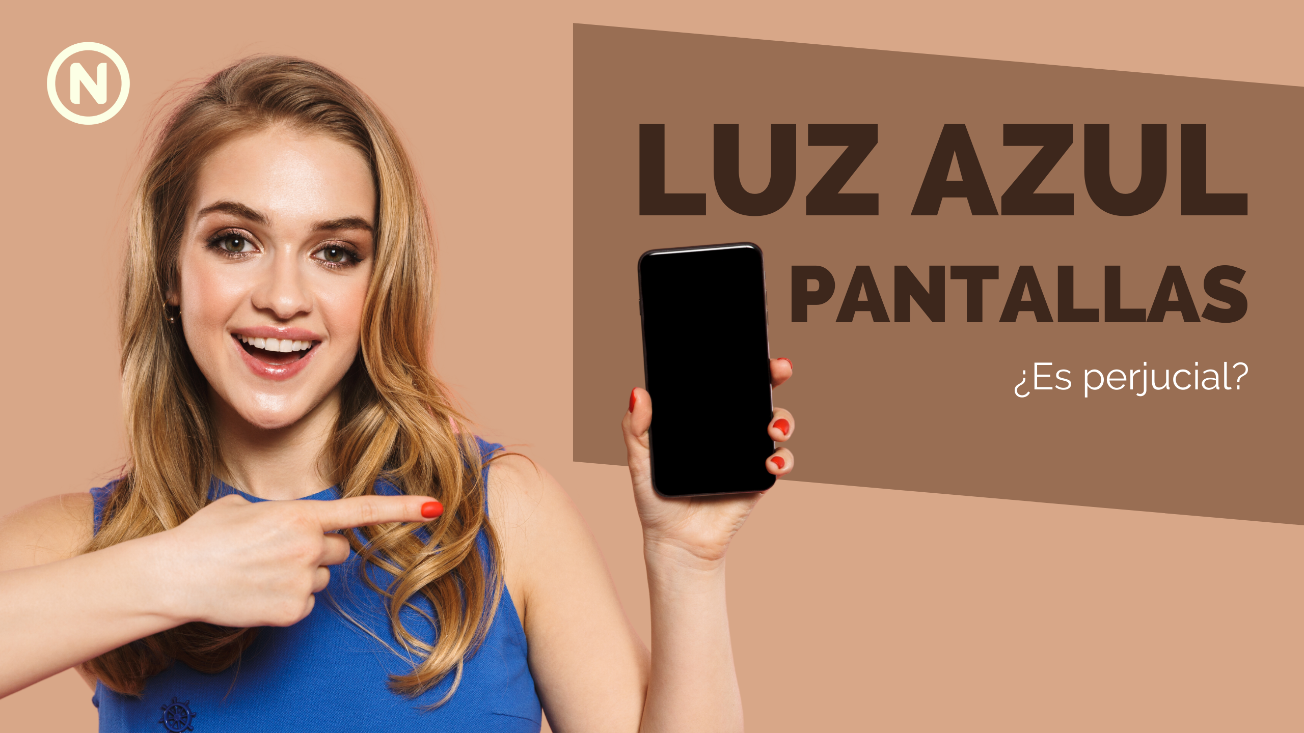 La luz azul de las pantallas digitales | Natural Optics
