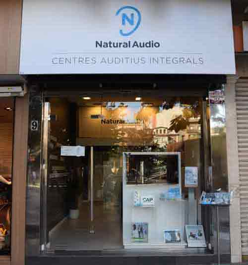 Optica en Lleida Natural Audio Lleida (Ricard Vinyes)