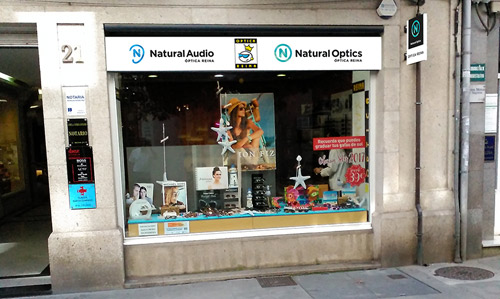 Optica en Lugo Natural Optics Reina