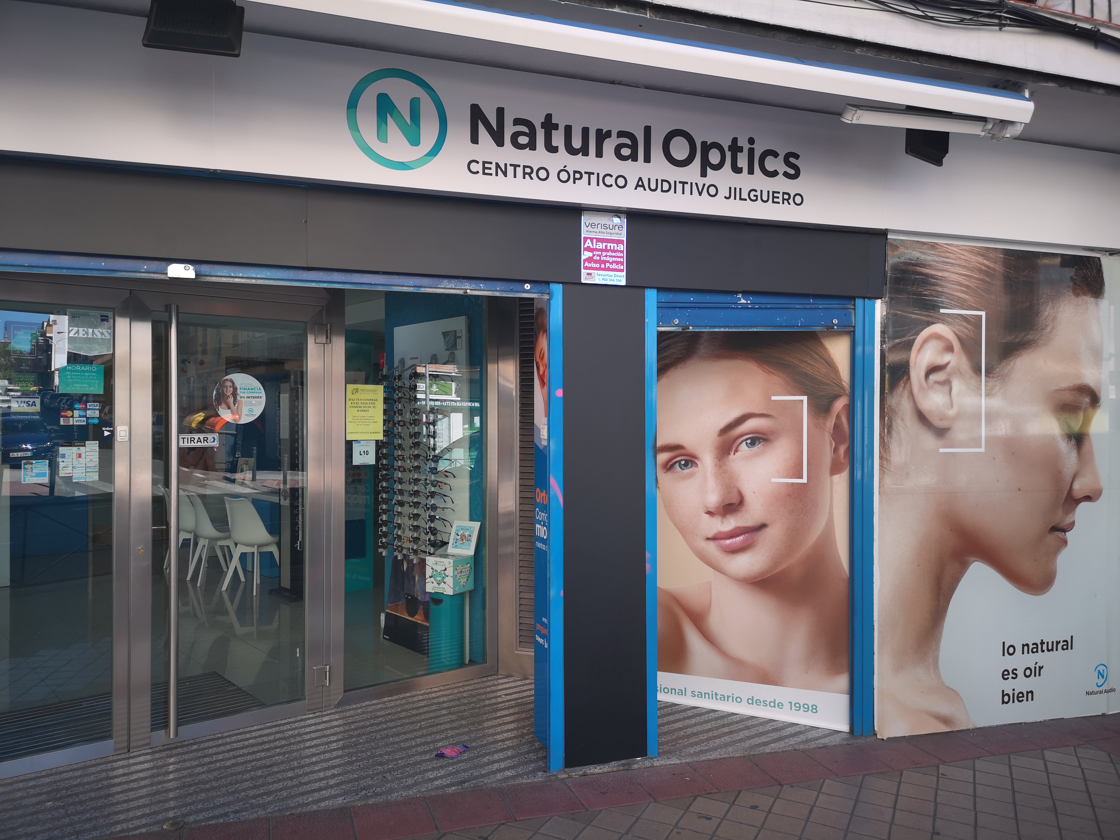 Optica en Madrid Natural Optics Jilguero