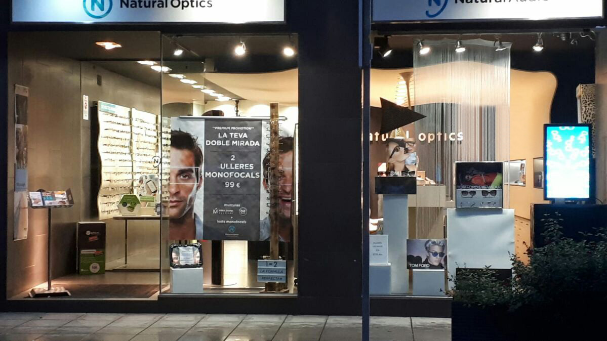 Optica en Lleida Natural Optics Tàrrega