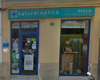 Optica en Murcia Natural Optics Yecla
